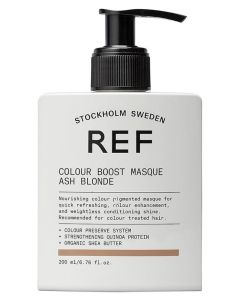 REF Colour Boost Masque - Ash Blonde 200ml