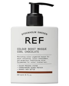 REF Colour Boost Masque - Cool Chocolate 200ml