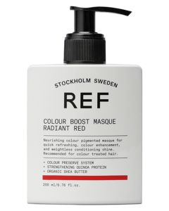 REF Colour Boost Masque - Radiant Red 200ml