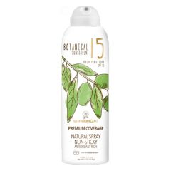Australian Gold Botanical Sunscreen SPF15 Natural Spray Non-Sticky 177 ml