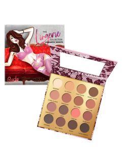 Rude Cosmetics Lingerie Collection 16 Matte Eyeshadow Palette Romantic Night
