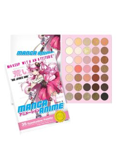 Rude Cosmetics Manga Anime 35 Eyeshadow Palette