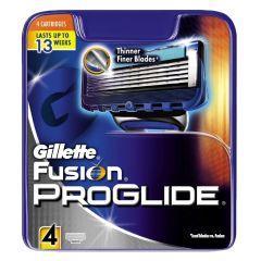 Gillette Fusion ProGlide blade - 4 pak