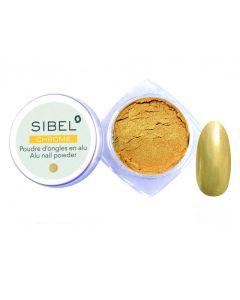Sibel Chrome Alu Nail Powder Gold Ref.6109040