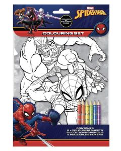 Marvel Spiderman Colouring Pad
