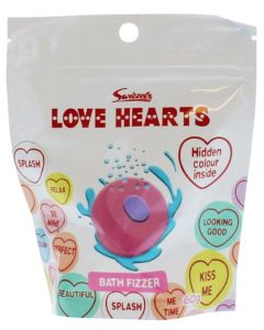 Swizzels Love Hearts Bath Fizzer 60g