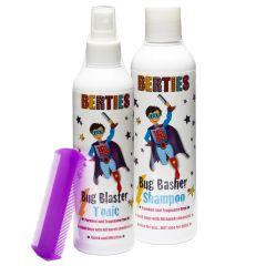 Berties Shampoo + Tonic + Lusekam (N)