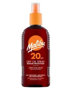 Malibu Dry Oil Sun Spray SPF20 200ml