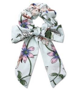 Everneed Trille Bow Scrunchie - Blue