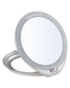 Tweezerman Adjustable Lighted Mirror
