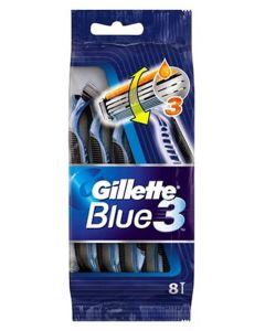 Gillette Blue 3 Disposable Razors 8pak