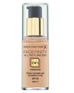 Max Factor Facefinity 3-in-1 Foundation Nude 47 - 30 ml