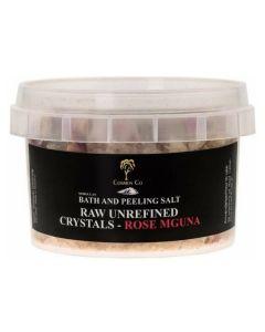 Cosmos Co Bath And Peeling Salt Raw Unrefined Crystals - Rose Mguna (U)
