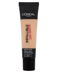 Loreal Infallible 24-Matte - 22 Radiant Beige 35 ml