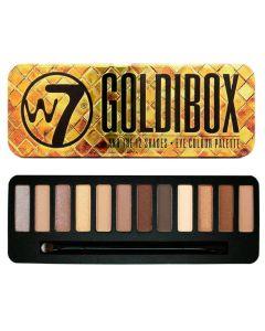 W7 Goldibox Palette 12stk