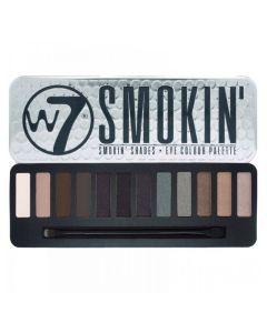 W7 Smokin Shades Palette 12stk