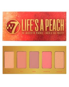 W7 Life's a Peach The Juiciest Of Peaches 5stk