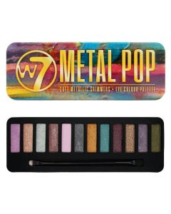 W7 Metal Pop soft metallic shimmers 12stk