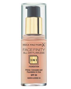 Max Factor Facefinity 3-in-1 Foundation Warm Almond 45 - 30 ml