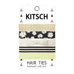 KITSCH - Daisy Darlings Hair Ties - 5 stk