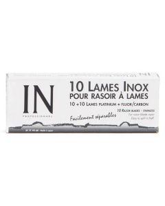 Sibel IN Inox Barberblade Universal Dobbelbladet Ref.7719160