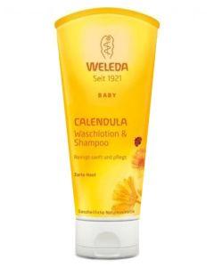 Weleda Calendula Baby Wash & Shampoo 200ml