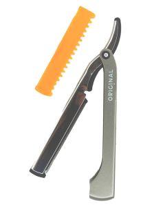 Sibel Original Professional In Double Razor Barberkniv + Udtynderfunktion Ref.7722000