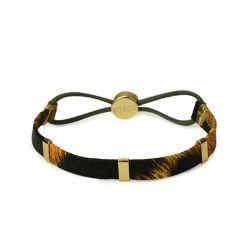 KITSCH - Bar Leopard Hair Tie - Læder