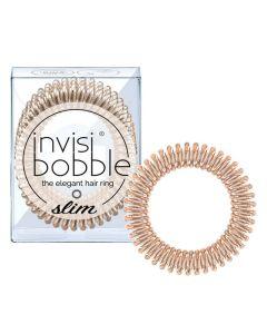 Invisibobble Slim - Bronze Me Pretty 3 stk.