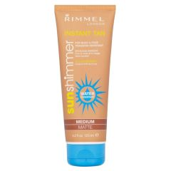 Rimmel Instant Tan - Medium Matte - Water Resistant 125 ml