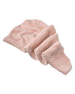 Yummi-Haircare-Microfiber-Hårhåndklæde-Rosa