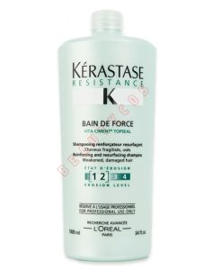Kerastase Resistance Bain De Force shampoo (1-2) 1000ml
