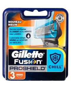 Gillette Fusion Proshield Chilll 3pak