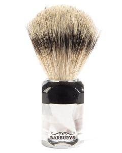Barburys Shaving Brush - Light Crystal