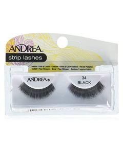 Andrea Strip Lashes Black 34