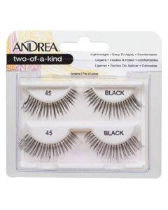 Andrea Two-Of-A-Kind Lashes Black 45