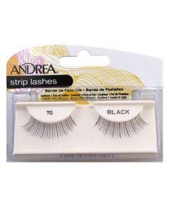 Andrea Strip Lashes Black 70