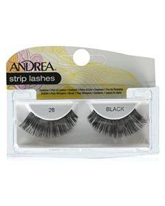 Andrea Strip Lashes Black 28