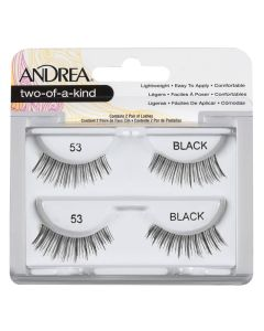 Andrea Two-Of-A-Kind Lashes Black 53