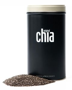 Original Chia - Original Chiafrø I Tin Dåse (Sort) 500 g