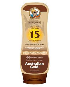 Australian Gold Lotion Sunscreen SPF15 M/Selvbruner 237ml