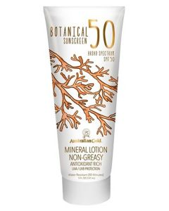 Australian Gold Botanical Sunscreen Mineral Lotion Non-Greasy SPF50 147ml