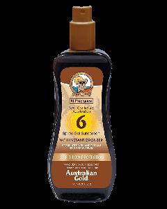 Australian Gold Spray Gel Sunscreen SPF 6 M/Selvbruner 237ml