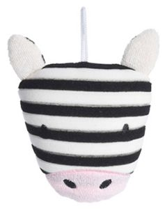 Baby Basic Badesvamp Zebra