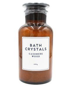 Wonder Spa Bath Crystals Cashmere Wood 600g