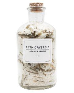 Wonder Spa Bath Crystals Jasmine & Lemon 600g