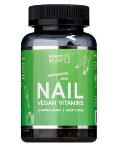 Beauty Bear Nail Vegan Vitamins 60 Gummy Bears