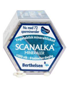 Berthelsen Naturprodukter - Scanalka Mineraler