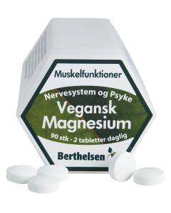 Berthelsen Vegansk Magnesium 90stk