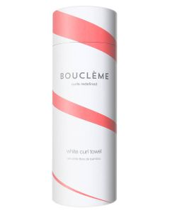 Boucleme White Curl Towel